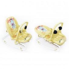 *Детский трансформирующийся шезлонг - качалка со съемным чехлом от ТМ Baby Tilly, бежевого цвета арт. BB-0001 beige 43715-06 lvt-BB-0001 beige