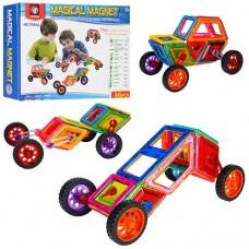 Детский магнитный конструктор Magical Magnet с инструкцией, 46 деталей арт. 7046А
