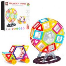 Детский пластиковый магнитный конструктор Mini Magical Magnet с инструкцией, 76 деталей арт. 719