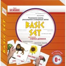 Развивающие Карточки по методике Домана Базовый набор на английском языке - 90 шт. для развития малышей с 0 мес.