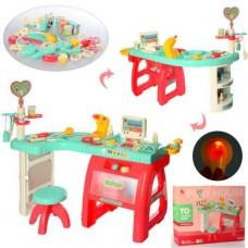 Игровой Набор Доктора из 27 предметов со столиком, табуретом, аппаратом УЗИ со световыми и звуковыми эффектами