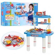 Детский Развивающий Игровой Набор-столик Маленький доктор с медицинскими инструментами 50х33х35 см арт.008-03