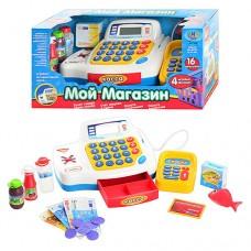 """Детский кассовый аппарат """"Мой магазин"""" со свет и звук эффектами, 4 игровые функции, ТМ JoyToy арт. 7020"""