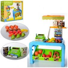 """Детский игрушечный набор """"Магазин"""" + весы, деньги, продукты,  со световыми и звуковыми эффектами  арт. 8728"""