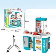 Детская кухня с холодильником, кофемашиной и циркуляцией воды Kitchen Chef, свет звук эффектами арт. 922-46 48382-06 lvt-922-46