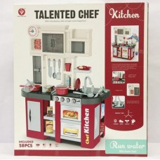 Детская кухня с холодильником и циркуляцией воды Kitchen Chef, с световыми и звуковыми эффектами арт. 922-103