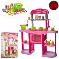Детский игровой набор кухня My Kitchen Set с посудой и аксессуарами, высота 84 см арт. 661-75 43593-06 lvt-661-75