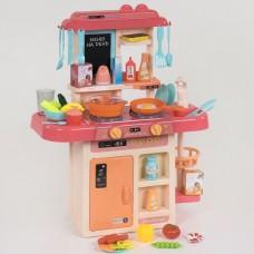 Кухня детская с циркуляцией воды и паром FUN GAME (КОРАЛЛОВАЯ) арт. 7426 51473-06 lvt-7426coral