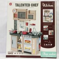 Детская кухня с холодильником и циркуляцией воды Kitchen Chef, со свет и звук эффектами арт. 922-102 48384-06 lvt-922-102