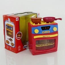 Детская игрушечная бытовая техника Плита с  световыми и звуковыми эффектами арт. 26131 43725-06 lvt-26131