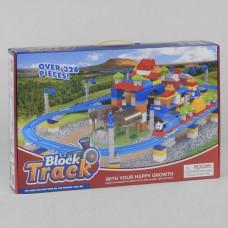 Железная дорога-конструктор для детей с Паровозиком Томас, со  звуковыми эффектами и аксессуарами, 326 деталей
