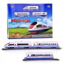 """Игровой набор Железная дорога большая со звуком """"Молния"""", длина дороги - 231 см арт. 9713-3 В"""