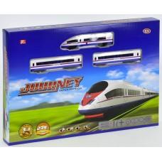 """Игровой набор Железная дорога """"Молния"""" на радиоуправлении со звуком, длина дороги - 239 см арт. 9713-2 В"""