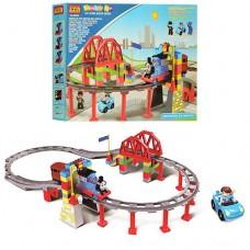 """Игровой набор Железная дорога с паровозиком """"Томас"""", размер паровоза 15 см  арт. 8288"""