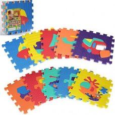 """Детский игровой массажный коврик - мозаика  """"Транспорт"""", 10 деталей, размер детали 31,5-31,5 см арт. 2620"""