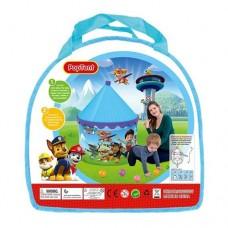 Детская Палатка Щенячий патруль для игр на воздухе и дома, водонепрониц. размер 120х100х100 см арт. 5726