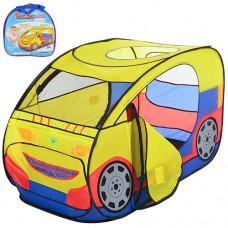 Детская Игровая Палатка для мальчиков Машина для дома и улицы, вход - накидка на липучках, 120х60 см арт. 2497