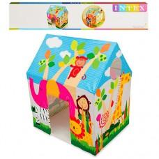 Детский игровой домик палатка из прочного винила для дома и улицы, размер 95х75х107 см арт.45642
