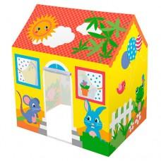 Детская Игровая Каркасная Палатка для детей Домик для дома и улицы, 114х102х76 см, BESTWAY арт. 52007