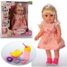 """Кукла """"Sister"""" (аналог Baby Born Старшая Сестра) арт. 003 R"""