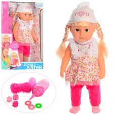 """Кукла детская """"Sister"""" с оригинальными аксессуарами Старшая Сестра высота 43 см арт. 015"""