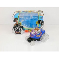 Игрушка Машинка-перевертыш из м/ф История игрушек 3, с разноцветной подсветкой колес и кабины - Toy Story 3