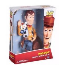 Игровая Говорящая Кукла Шериф Вуди История игрушек - 20 фраз, 35 см, съемная шляпа - Woody Toy Story Thinkway Toys