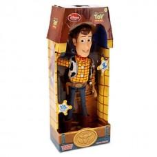 Говорящая Игровая Фигурка Шериф Вуди История игрушек говорит фразами из фильма, 41 см - Talking Woody, Disney