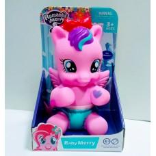 Игровая фигурка для девочек Малышка Розовая Пони с волшебной палочкой, со звуковыми и световыми эффектами