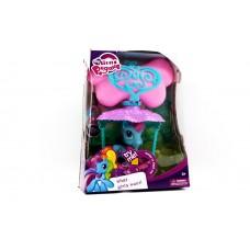 Игровой Набор для девочек Маленькая Пони на воздушном шаре со световыми и звуковыми эффектами, разноцветный