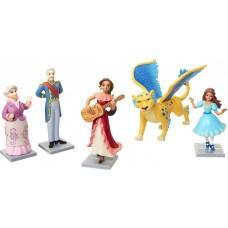 Игровой набор из 5 фигурок: принцессы Елена и Изабель, Скайлар, герцог Эстебан, бабушка Луиза - Elena of Avalor