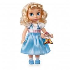 Коллекционная Игровая Кукла для девочек Золушка Дисней, высота 40 см, винил - Cinderella серия Disney Animators