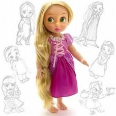 Коллекционная Игровая Кукла для девочек Рапунцель Дисней, высота 30 см, винил - Rapunzel, Disney Animators