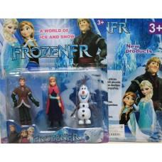 Герои мультфильма Холодное сердце Frozen 3 героя