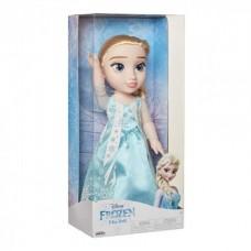 Игровая Кукла для девочек Принцесса Эльза Холодное Сердце в волшебном наряде 38 см - Elsa Frozen Disney Princess