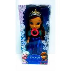 """Кукла Анна поющая """"Холодное Сердце"""" - Frozen"""