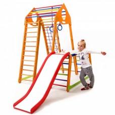 *Детский игровой спортивный комплекс Bambino Wood Plus 1-1 (Украина)