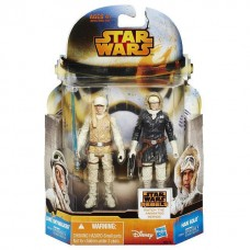 Набор фигурок Люк Скайуокер и Хан Соло Звездные войны.Эпизод V - Luke Skywalker, Han Solo, Star Wars, Hasbro 51000-05 lt-0469