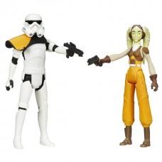 """Фигурки Командир Штурмовиков и Гера Синдулла """"Звездные войны"""" - Hera Syndulla, Stormtrooper, Star Wars, Hasbro"""