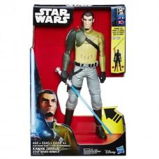 """Игрушка Кэнан Джаррус (свет, звук) """"Звездные Войны: Повстанцы"""" 30 см"""