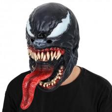 Игровая костюмная маска суперзлодея Веном для подростков и взрослых Косплей Марвел: Человек-паук - Venom Mask