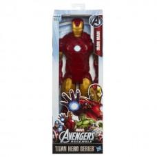 Игровая Большая фигурка Железный Человек серия Титаны Мстители 30см - Iron Man, Avengers, Titans Assemble Hasbro