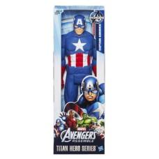 Игровая фигурка Капитан Америка Мстители, высота 30 см - Captain America Titan Hero Series, Avengers, Hasbro