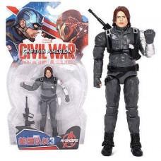 Фигурка Зимний Солдат (Мстители, Марвел), 18 см - Winter Soldier, Avengers, Marvel
