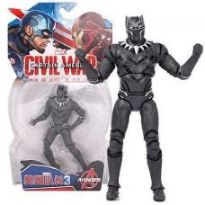 Фигурка Черная Пантера (Марвел), 18 см - Black Panther, Avengers, Marvel