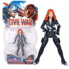 Фигурка Черная Вдова (Мстители, Марвел), 18 см - Black Widow, Avengers, Marvel