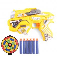 Детский Игровой Бластер Супергерой: Космические войны с мишенью и мягкими пулями - Space Quick Battle Blaster