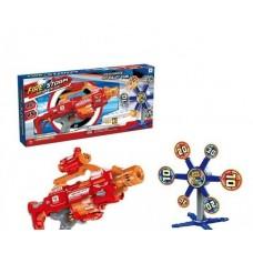 Игровой Набор игрушечное оружие Бластер с вращающейся мишенью и 20 мягкими пулями - Fire Storm Soft Bullet Gun