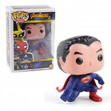 Коллекционная Игровая Фигурка Супермен со светом Фанко Поп, 10 см, ПВХ - Funko POP Marvel Avengers Superman