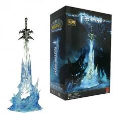 """Статуэтка меча """"Frost Mourne"""" (Ледяная Скорбь) с подсветкой"""